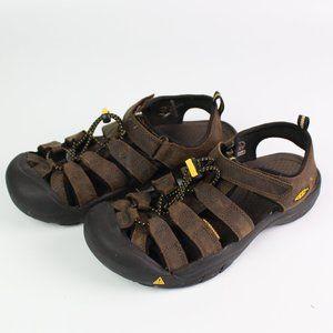 Keen Newport H2 brown sport sandal hiking shoes